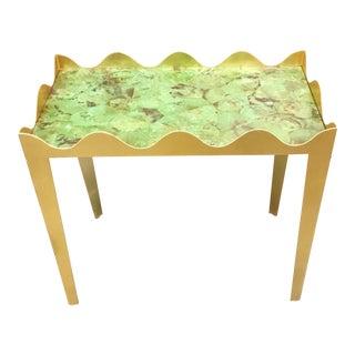 Henredon Celerie Kemble Ruffle End Table