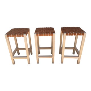 White Pine Counter Height Stools - Set of 3