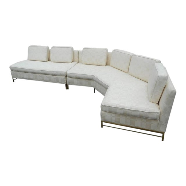 Impressive Two-Piece Mid-Century Modern Sofa by Paul McCobb for Directional - Image 1 of 11