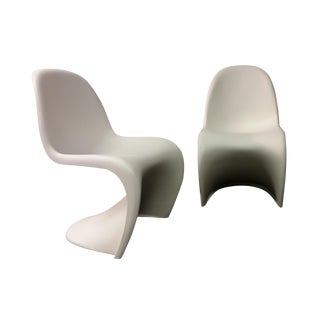 Mid-Century Verner Panton Chairs - A Pair