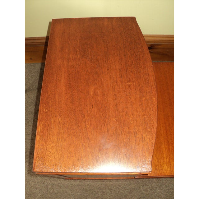 Image of Antique Federal Style Mahogany Nightstands - A Pair