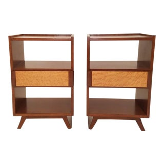 Eliel Saarinen for Rway Furniture Nightstands- A Pair