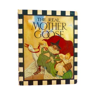 1969 'The Real Mother Goose' Hardcover