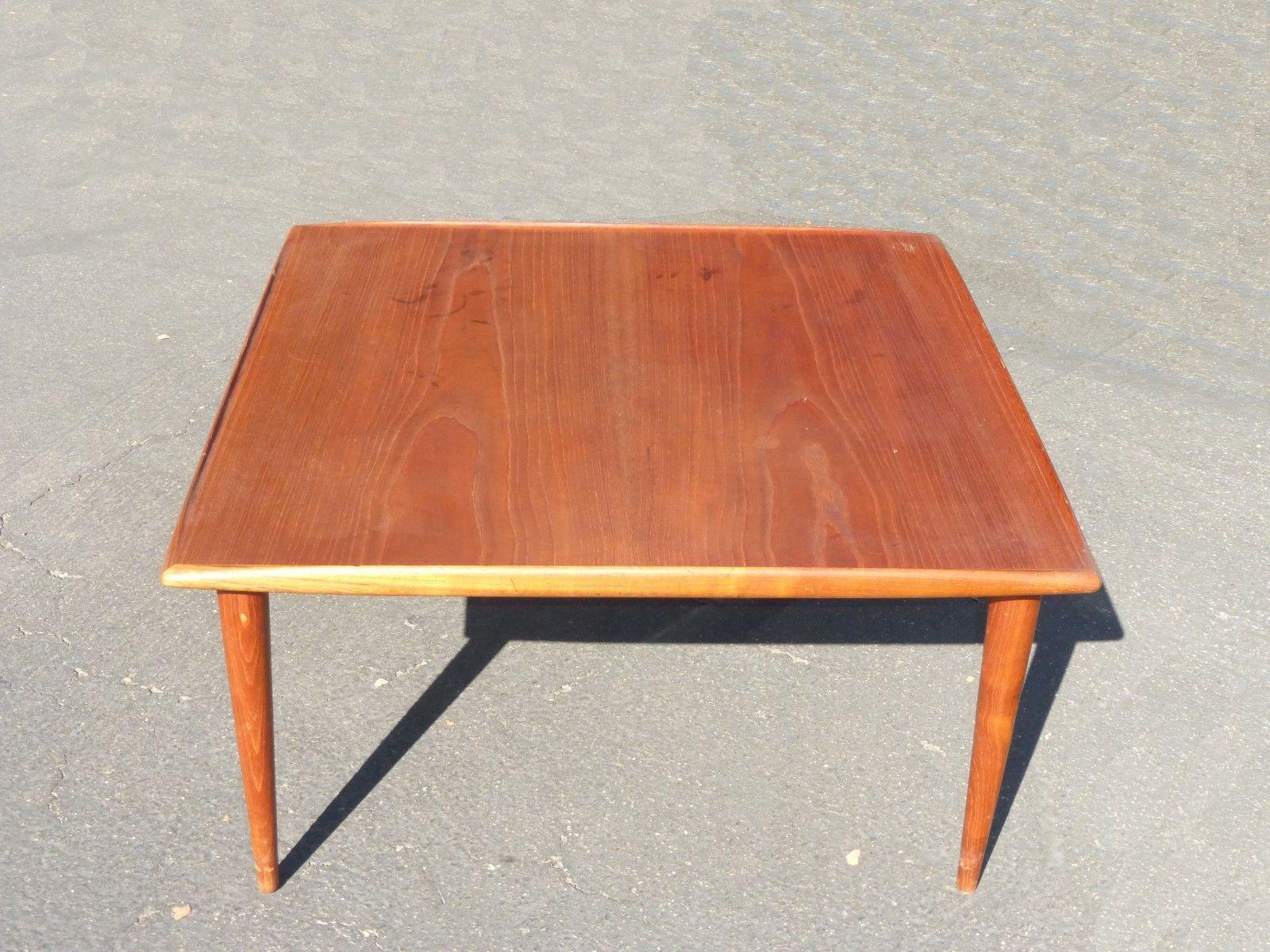 Moreddi Danmark Vintage Danish Coffee Table   Image 4 Of 11