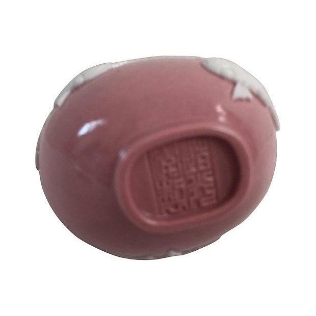 Chinese Pink Porcelain Koi Fish Bottle - Image 3 of 5