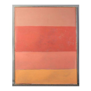 Large Abstract Painting in the Style of Rothko