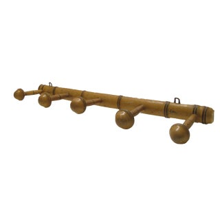 French 5-Peg Towel or Coat Rack