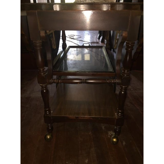 Traditional Serving Cart Table - Image 7 of 9