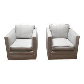 Knoll Pfister Club Chairs - A Pair
