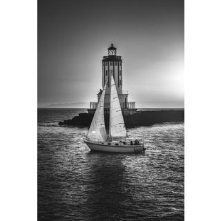 Jason Mageau Intersection, Lighthouse, and Sailboat Photo