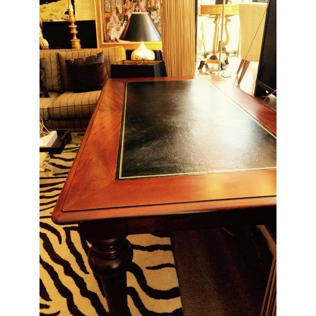 Mahogany & Leather Ralph Lauren Desk - Image 2 of 6