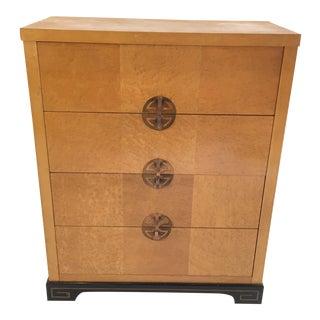 1950's Art Deco Style Birdseye Maple Dresser