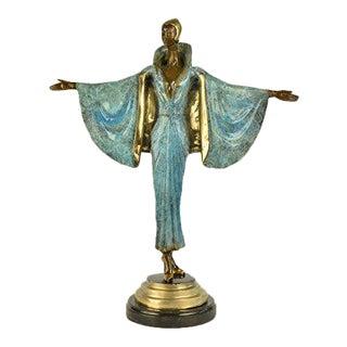 Fashion Runway Designer Bronze Sculpture