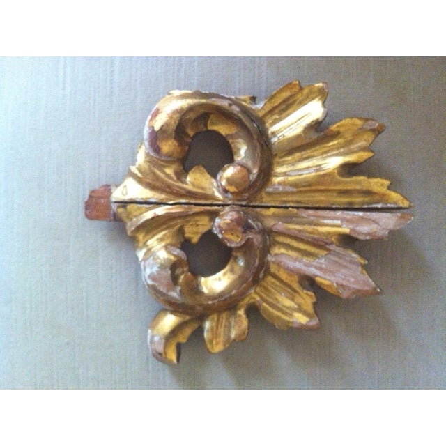 19th C. Gilt Wood French Architectural Fragment - Image 2 of 3
