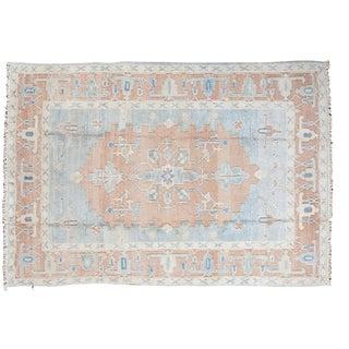"Vintage Oushak Carpet - 5'8"" X 8'3"""