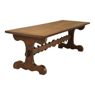 French Farm, or Trestle Dining Table