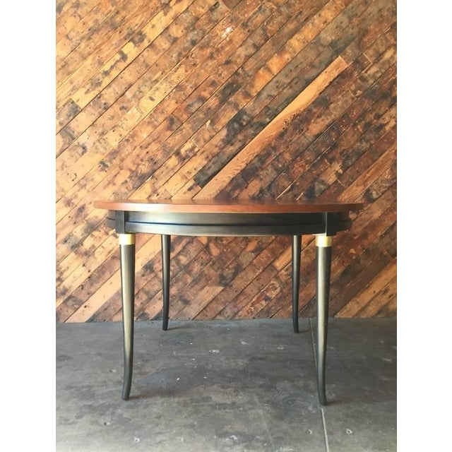 Mid-Century Regency Dining Table - Image 5 of 5