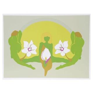 Daphne Mumford Serigraph - Spring I
