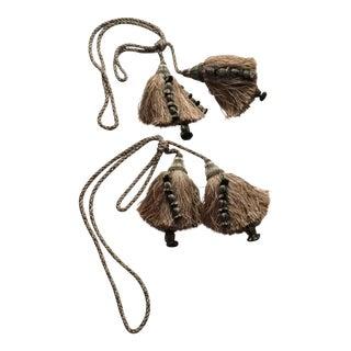 Houles Silk Drapery Tiebacks - A Pair