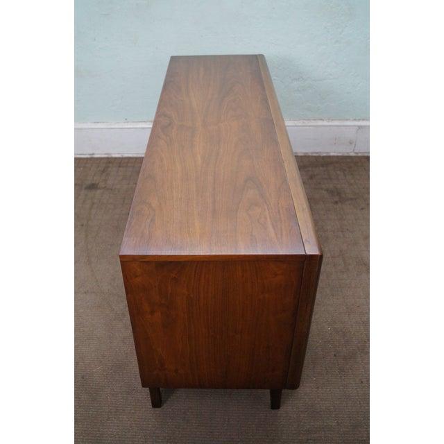 Image of United Furniture Mid Century Diamond Front Dresser