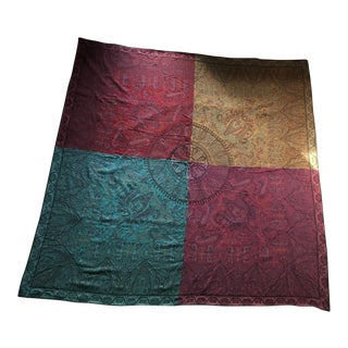 Ralph Lauren Four Seasons Paisley Throw Blanket