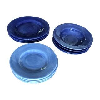 Pottery Barn Sausalito Plates - Set of 12