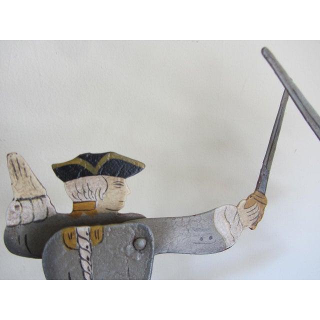 """The Duel"" Balancing Folk Art - Image 5 of 8"