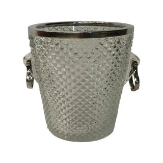 English Silverplate Ice Bucket