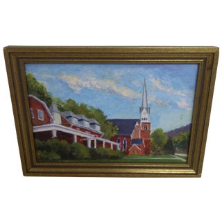 Sewickley Methodist Church Painting