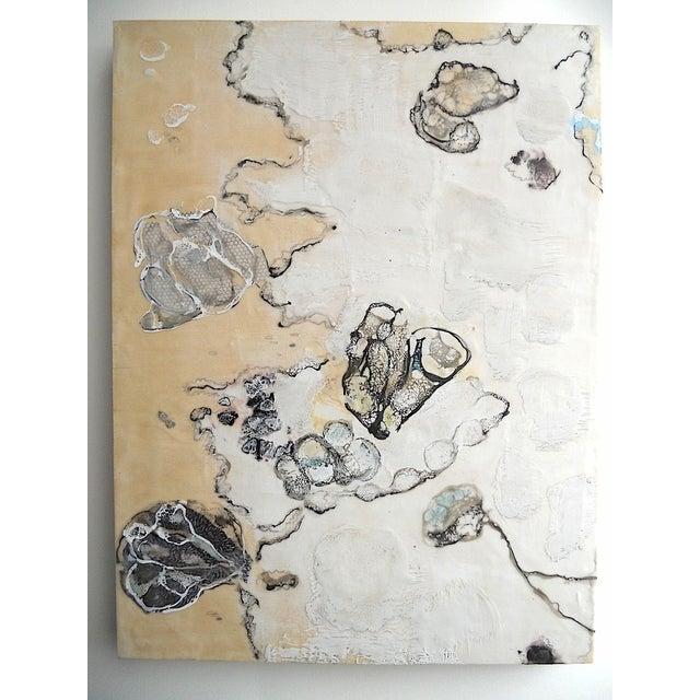 Chrysalis Dawn Modern Encaustic Painting - Image 2 of 6