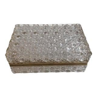 Cut Crystal Jewelry Box