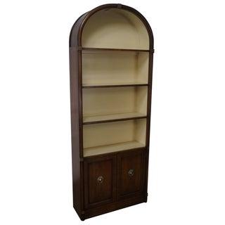Vintage Henredon Regency Walnut Bookcase