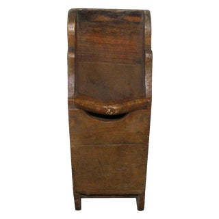 Primitive American Wooden Bin