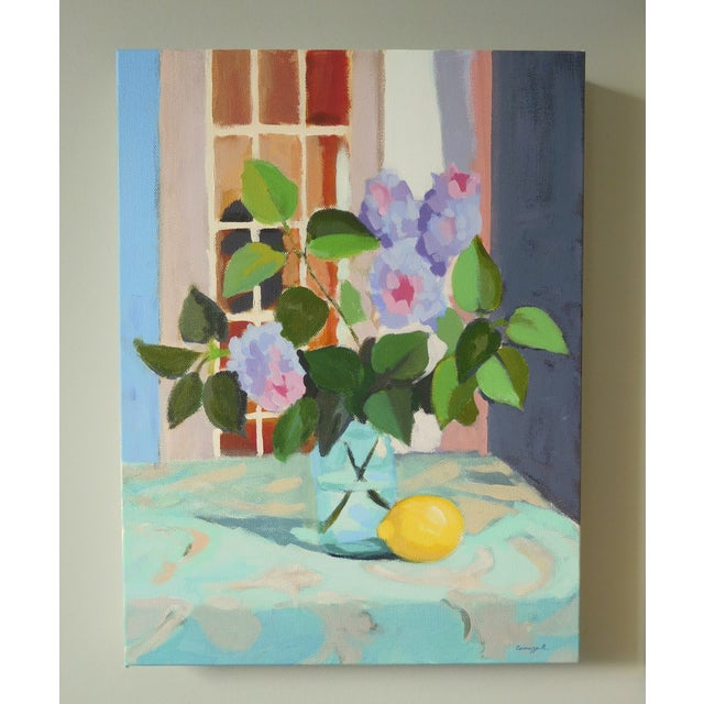 """Lilac With Lemon"" by A. Carrozza Remick - Image 6 of 6"