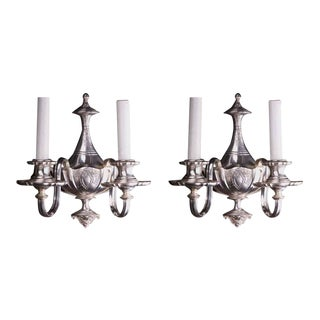 1910 Neoclassical Style Sconces - A Pair