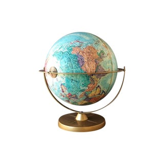 Replogle World Globe, School House Decor