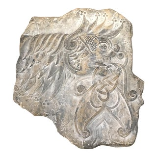 Ceramic Celtic Mythological Beast Wall Plaque by Jim Meredith Studios