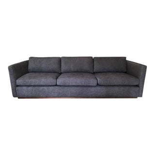 "Milo Baughman for Thayer Coggin ""Floating"" Tuxedo Sofa"