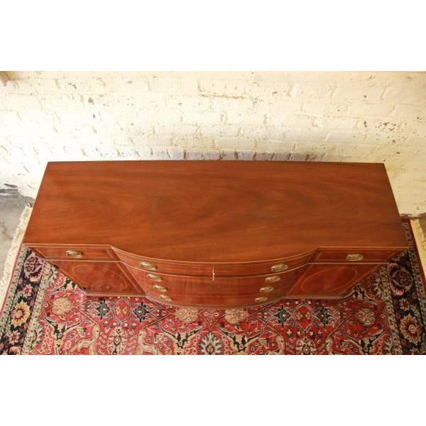 Vintage Mahogany Duncan Phyfe Buffet by Kittinger - Image 7 of 9
