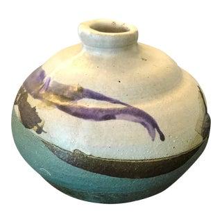 Mid-Century Studio Pottery Bud Vase