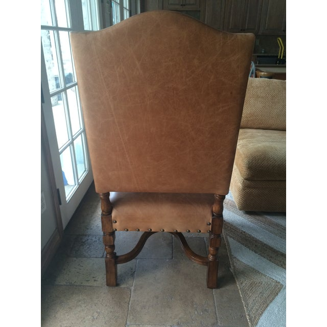 Image of Cowhide & Leather Camargue Chairs - A Pair