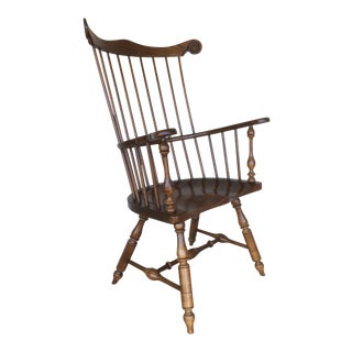 Frederick Duckloe Windsor Comb Back Chair