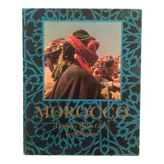 "Vintage ""Morocco"" Travel & Culture Hardcover Book"