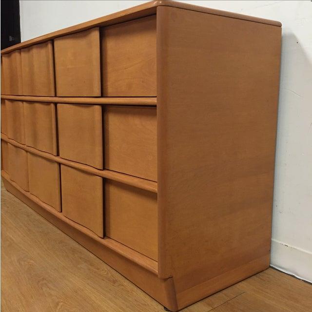 Image of Heywood-Wakefield Vintage Sculptura Birch Dresser