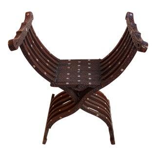 "Vintage Italian ""Savonarola"" Chair"