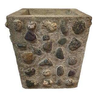 Vintage Cement & Stone Planter