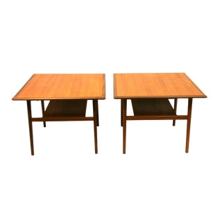 Pair of Danish End Tables by Aase Molle and Traevarefabrik