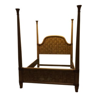 Four Poster Tropical Queen Bed