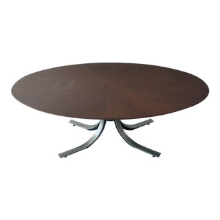 Osvaldo Borsani Walnut & Steel Table