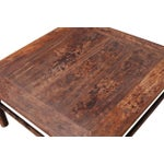 Image of Vintage Sarreid LTD 1950s Elm Coffee Table